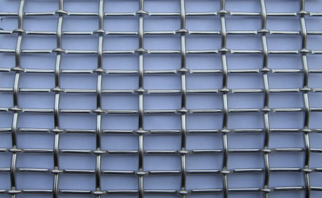 Crimped Wire Mesh Iron Wire Crimped Mesh Stainless Steel